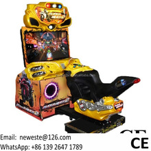With Video, Motorcycle Amusement Equipment Coin Operated Machine Motorbike Driving Car Moto Simulator Motor Bike Racing Games