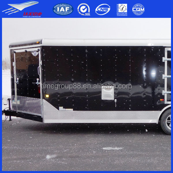 Horse/bumper pull/gooseneck/vaccum tank/heavy haul aluminum trailers,aluminum tray box body for vehicle