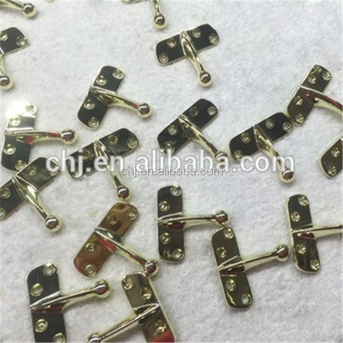 High quality casting little hardware rose gold plating