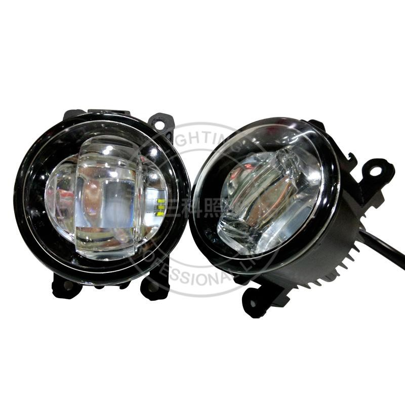 2016 toyota fortuner yellow fog lights led 4 inch round tuning lights fog lamp