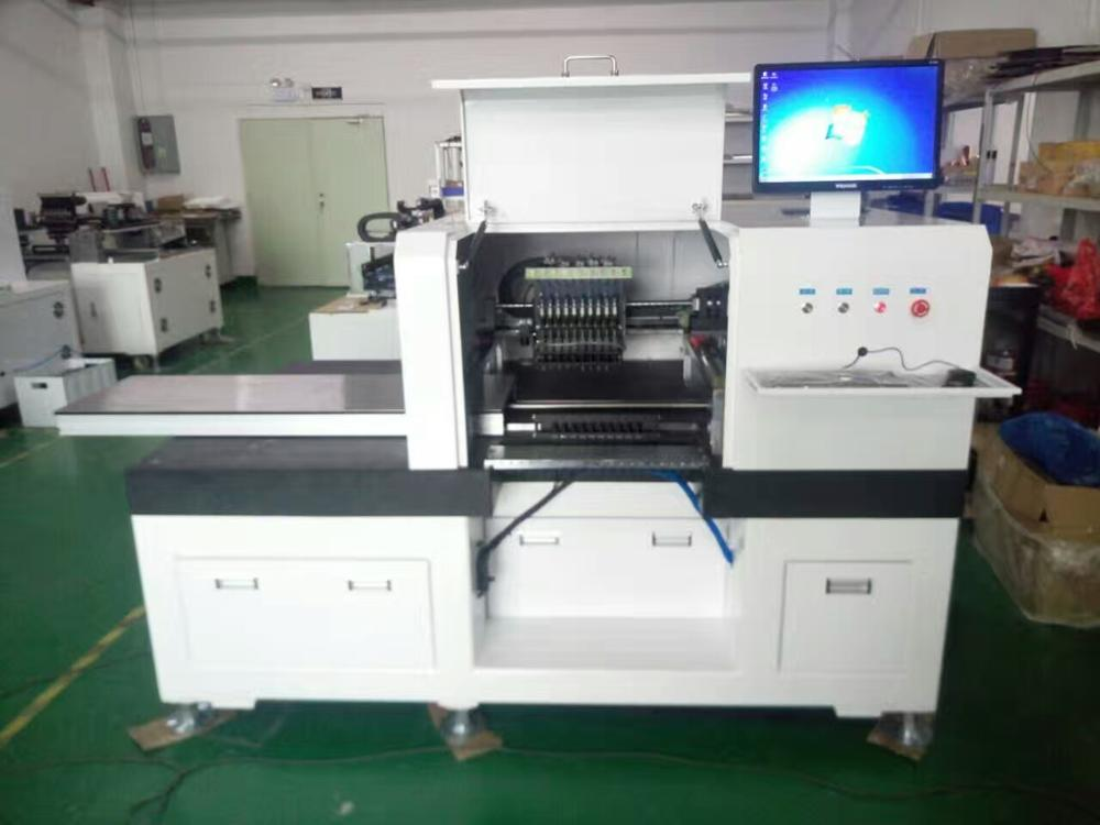 Granite table-top LED pick and place machine, 10 heads LED chip mounter, high speed smt machine