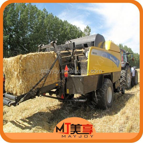 MAYJOY farm machinery hay and straw baler machine widely used in green/dry grass,rice,wheat,corn stover(skype:mayjoy46)
