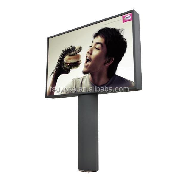 large format billboard printing machine hot sale frame aluminum wheel display stand cloth raab light box