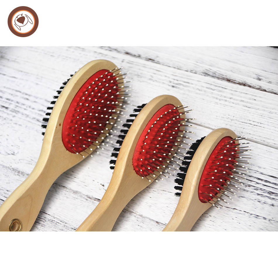 marketable reasonable price wood handle and synthetic natural face cleaning hair washing brush