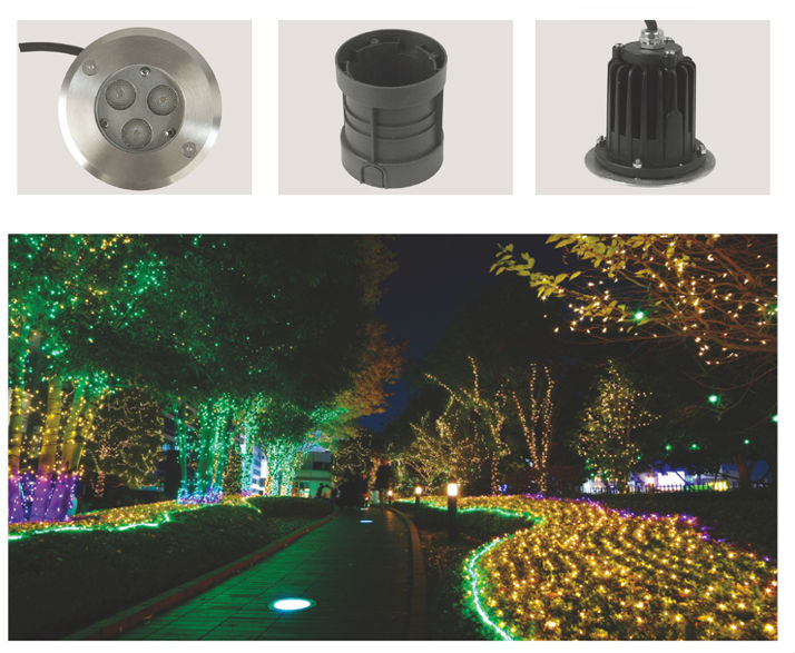 Outdoor lighting led underground light waterproof garden lights outdoor lighting led underground light waterproof garden lights buried underwater lamps led in ground driveway mozeypictures Images