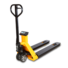 China pallet balance weighing fork scale pallet truck scale