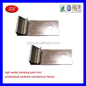 Customized 303/304stainless steel stamping part for DIY git parts,Spring Steel Clip for picture frame part