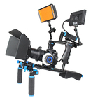 JINGYING Cheap photography video DSLR camera shoulder rig kit for DV DSLR camera