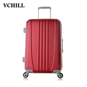 2017 news high quality classic fashion business style trolley ABS luggage case