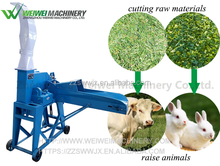 Widely used silage machine for corn and grass