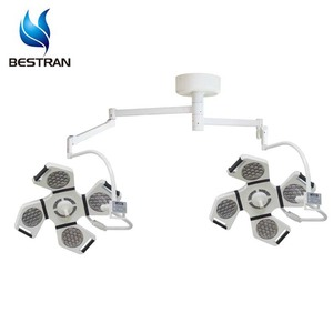 BT-LED4+4B CE ISO LED surgery room use double arms shadowless operation lamp led