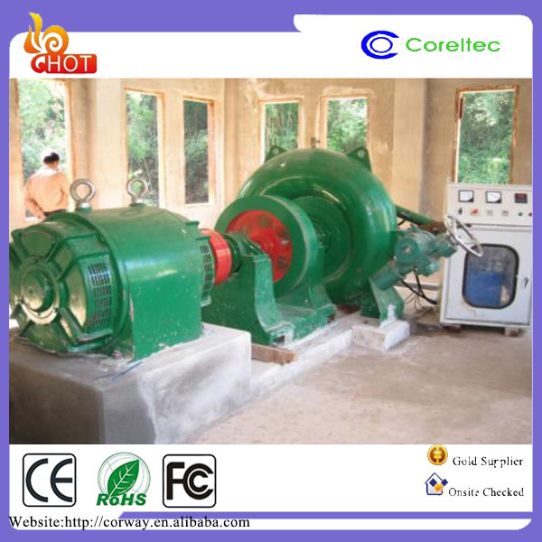 Top Seller Hydroelectric Generators 100Kw Pelton Wheel