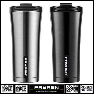 Professional factory stainless steel portable insulated vacuum travel coffee mug