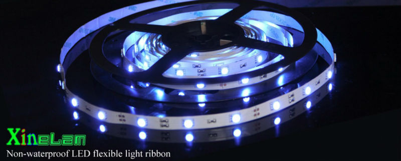 5050 flexible led light sheet dc12v 12w/m led strip light