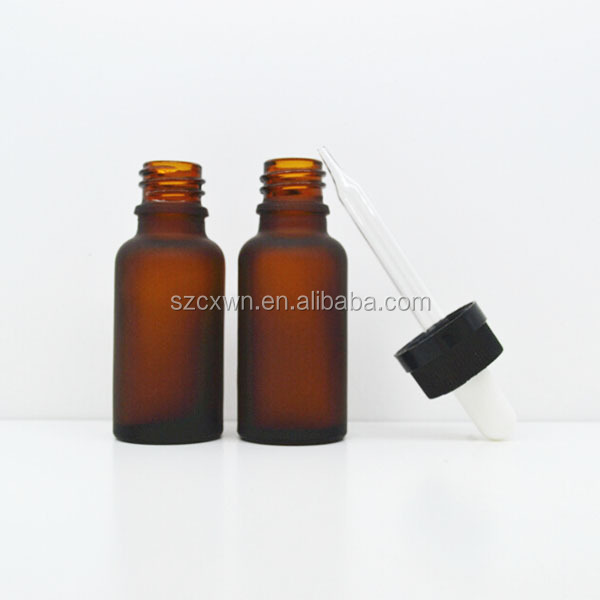 new amber glass dropper bottle food grade manufacturer10ml essencial oil amber glass dropper bottle / vial for cosmetic