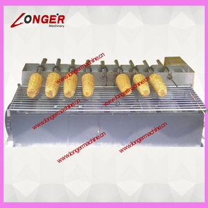 corn roaster | maize roasting machine