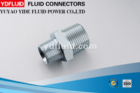 stainless steel pipe fitting hydraulic adapter brass fitting