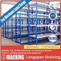 Warehouse Shelf And Rack 200-800 Kg/Level