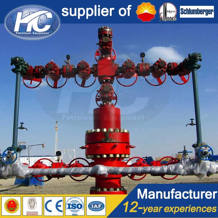 Drilling Fluids Oil Christmas Tree/ Wellhead Xmas Tree Pressure Testing Equipment - Buy Oil ...