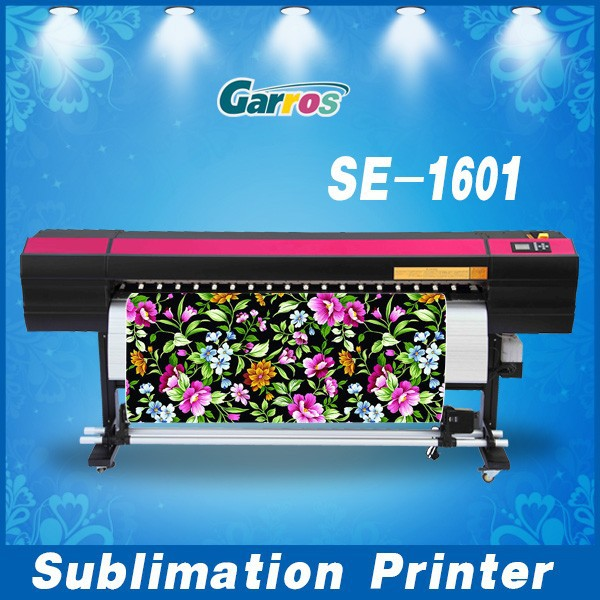Automatic Cleaning plotter Sublimation t shirt printing machine, sublimation printer used