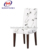 aluminum imitated wood dining chair