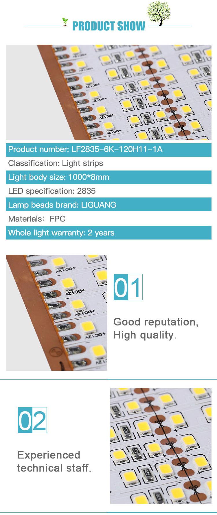 Yüksek lümen dc 24 v yüksek CRI 3000 k ısıya dayanıklı Ultra Ince konektörü smd 2835 led şerit bitki yetiştirme lambaları