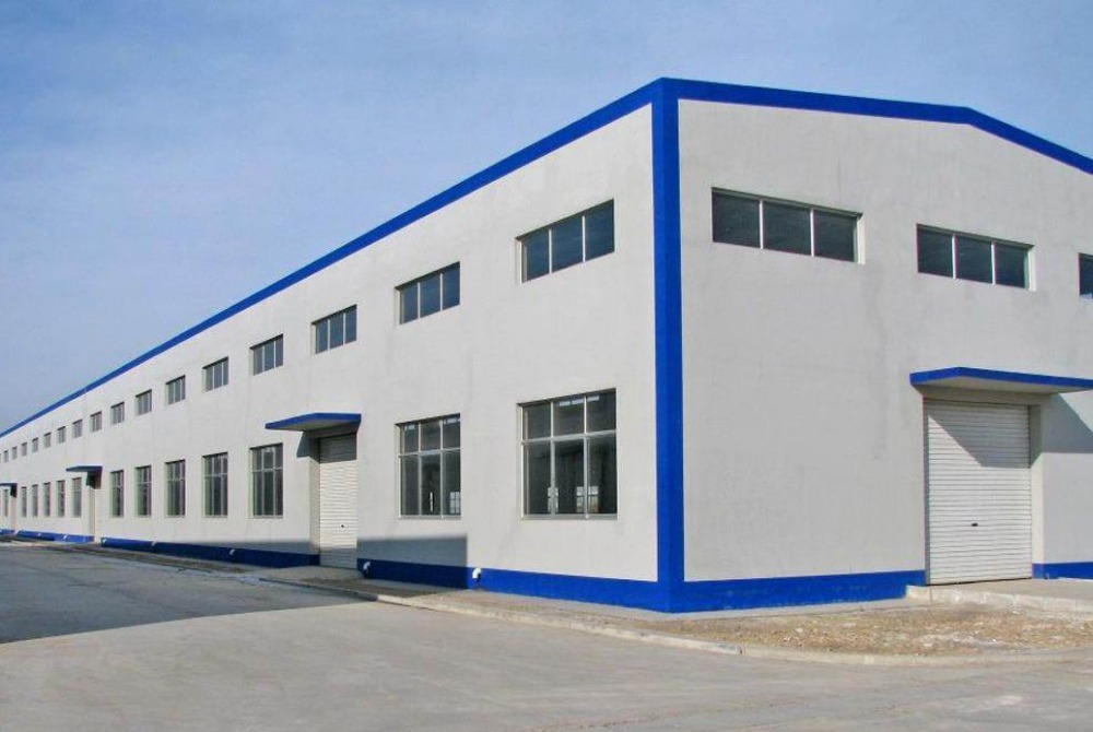 Low Cost Prefab Steel Metal Building For Industial Shed