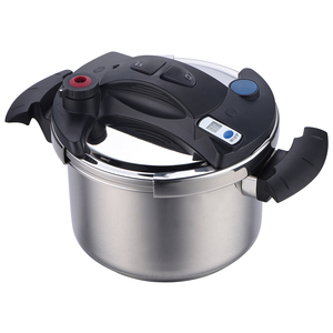 Multifunction Pressure Cooker for all cooking surfaces with close and open  button