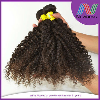 High Quality Afro Kinky Curly Wholesale Brazilian Hair Extensions
