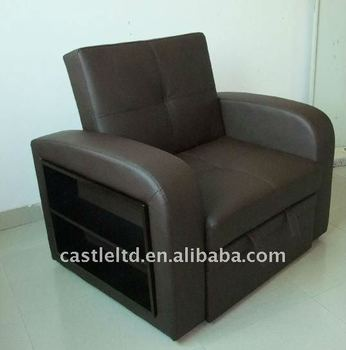 single folding black leather chair bed buy folding chair bed
