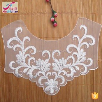 3bd719309aca4 Xd0083 Zhongda Hot Sale Embroidery Neck Patterns