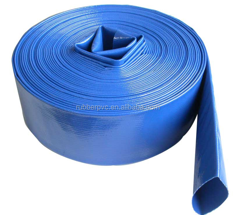 PVC Flexible Irrigation LayFlat Discharge Hose