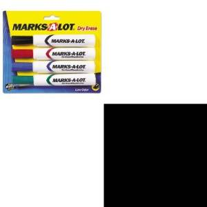 KITAVE24409AVE75537 - Value Kit - Avery Top-Load Recycled Polypropylene Sheet Protector (AVE75537) and Marks-a-lot Desk Style Dry Erase Markers (AVE24409)