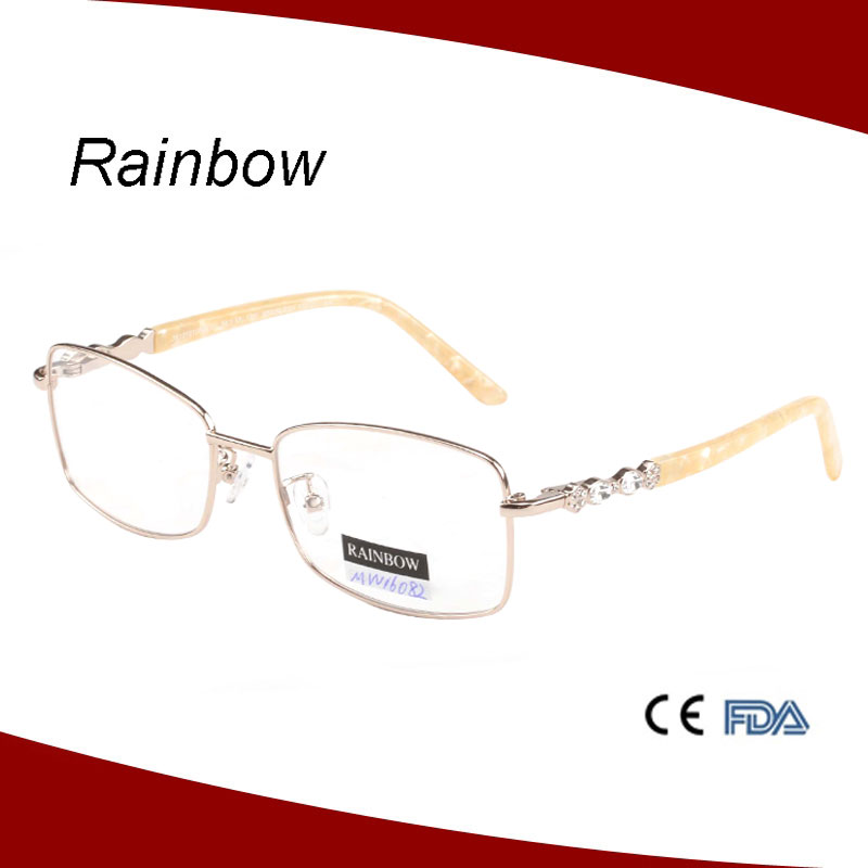 Woman eyeglass frames optical with quality metal part