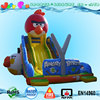 inflatable balloon slide, giant birds angry inflatable slide