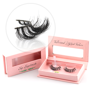 Wholesale Individual Eyelashes 3D Mink lashes 100% Real Mink Fur False Eyelashes