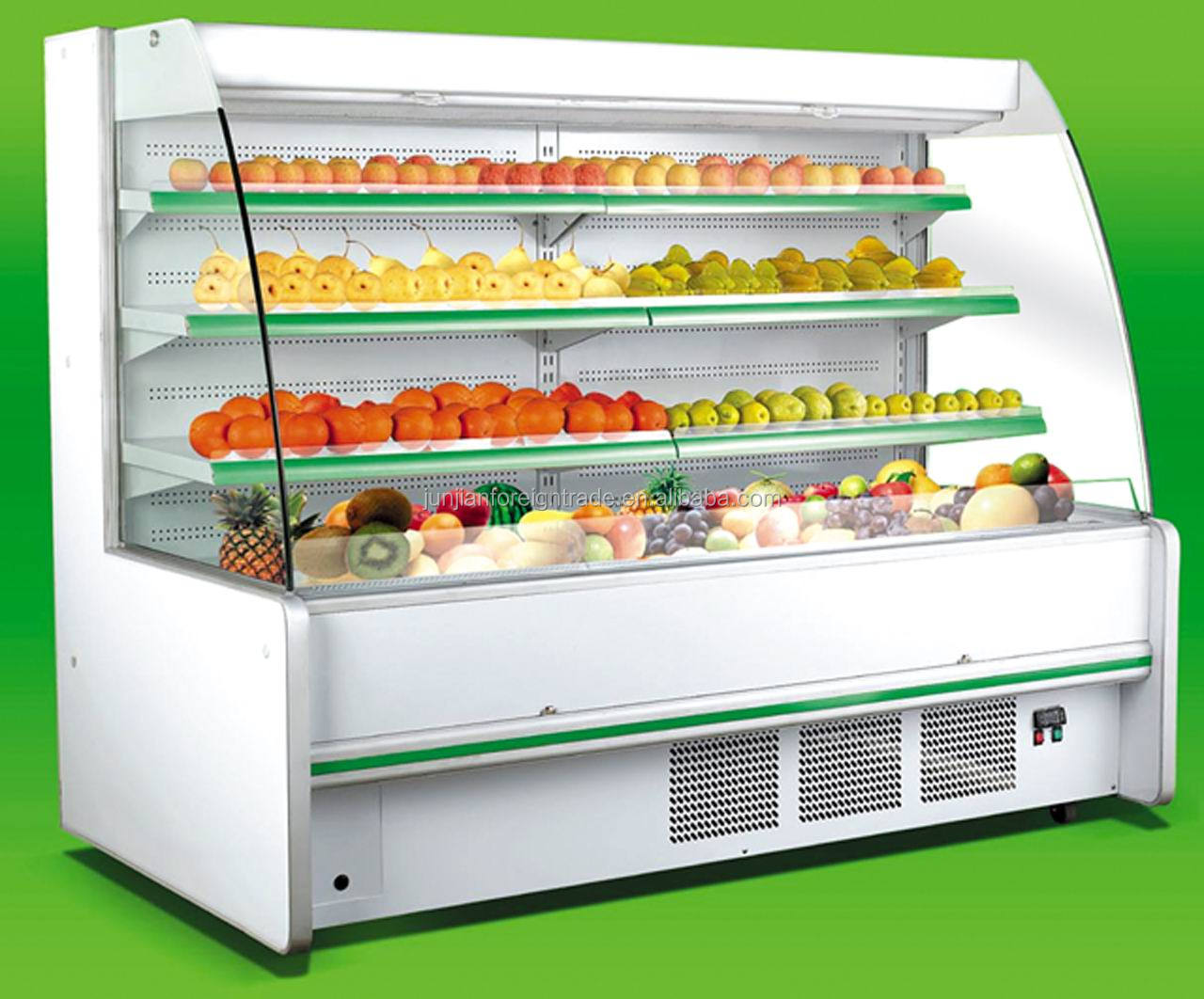 Sbg 20a Supermarket Equipment Commercial Fruit Display Refrigerator