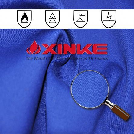 eco friendly fire proof fabric for security clothing