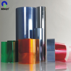 plastic label material PVC super clear rigid sheet for offset printing