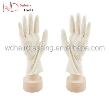 Antiskid Gloves Hair Perm Hair Shampoo Hair Coloring Black Latex ...