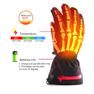 Hand Warmer Electric Battery Heated Gloves