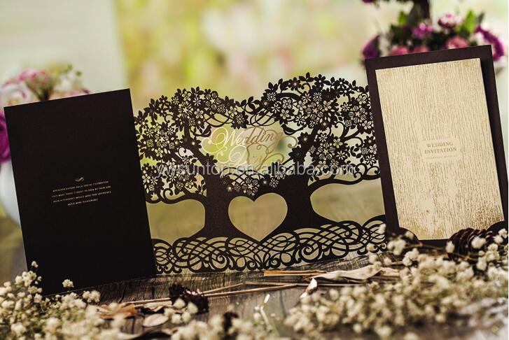 laser cut wedding invitations tree, laser cut wedding invitations, Wedding invitations