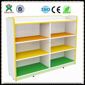 New Preschool Wooden Kid Cabinet For SaleShoe Display Cabinet