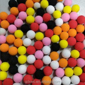 colorful eva foam balls 10mm 20mm 30mm 40mm 50mm diameter