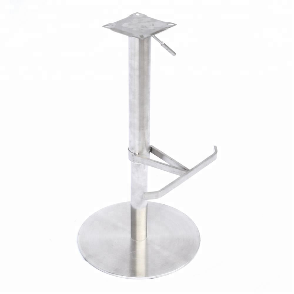 stainless steel bar stool replacement part adjustable height metal barstools