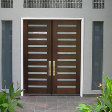 kerala teak wood main door designs swing raw wood solid door