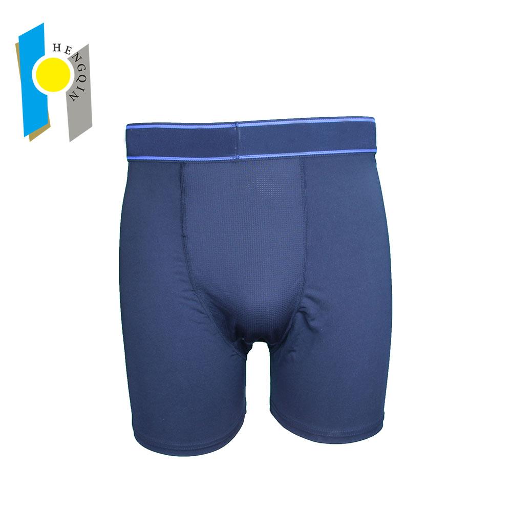 338cc2d33c48 Estilo de moda de los hombres ropa interior anti bacteriana largo patrones  boxer briefs