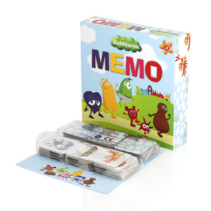 Families Kids Children Printing Card Game Memory Game