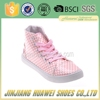 Low Price Injection PVC Outsole Ladies Canvas Shoes