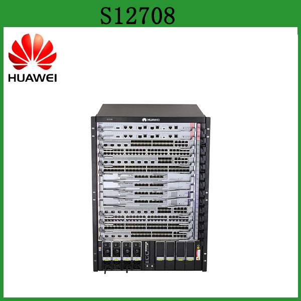 Huawei Core Switch S12700 Series Agile Switch S12708 384 ports 10GE Data Center Switch Support SDN
